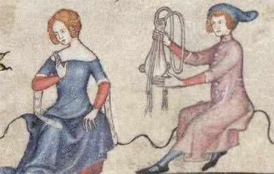 Som När Det Begav Sig Medeltiden: Kvinnors Kläder