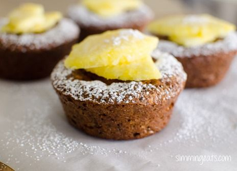 Pineapple and Coconut Weetabix Cake | Slimming Eats - Slimming World Recipes