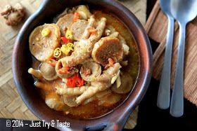Just Try Taste Seblak Basah Ceker Ayam Dan Bakso A La Jtt Makanan Dan Minuman Fotografi Makanan Makanan Pedas