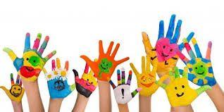 Resultado de imagen para manitos pintadas | Lengua de signos ...