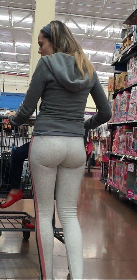 Candid Teen Schwarz Leggings