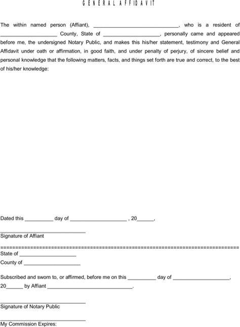 Christmas Letterhead Template Templates\Forms Pinterest - affidavit statement of facts