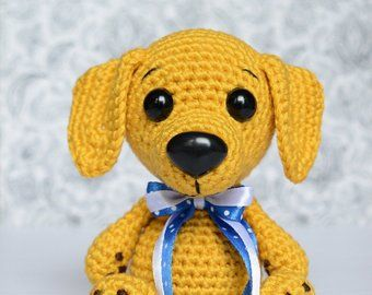 Crochet Amigurumi Puppy Dog PATTERN ONLY, Jack Pup, pdf Stuffed ... | 270x340
