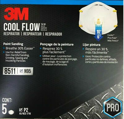 Details About 3m Aura 9322k Particulate Respirator Dust Mask With