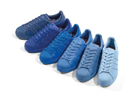 sports shoes 20a97 35ea9 Pharrell x adidas Superstar Supercolor Collection Release Date