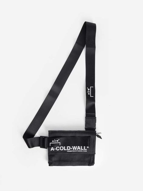 A-Cold-Wall* A Cold Wall* BLACK V2 HOLSTER FANNY PACK