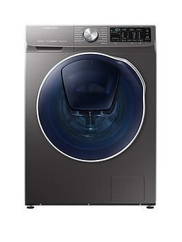 Wd90n645oox Eu 9kg Wash 5kg Dry 1400 Spin Quickdrive Washer Dryer With Addwash Graphite Washer Dryer Washer Graphite