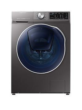 Wd90n645oox Eu 9kg Wash 5kg Dry 1400 Spin Quickdrive Washer Dryer With Addwash Graphite Washer Dryer Washer Graphite