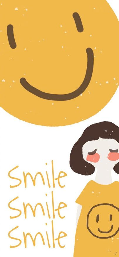 Smiley Yellow Girl Wallpapers For Iphone11 Iphone11 Pro Iphone 11 Pro Max Free Wallpaper Download In 2020 Wallpaper Free Download Girl Wallpaper Free Wallpaper