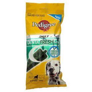 Pedigree Denta Stick Fresh Stix Snack For Dog 154 G Made In