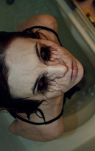 Best 25+ Scary halloween makeup ideas on Pinterest | Creepy makeup ...