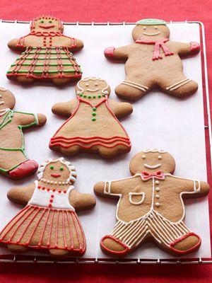 Paula Deen's Gingerbread Cookies Recipe - Paula Deen Recipes - Good Housekeeping