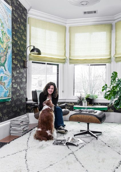 Working It - A Designer's Home That Takes Wallpaper To The Next Level - Photos