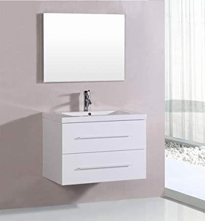 Bathroom Vanities All Modern Fresh 32 Modern White Floating Single Sink Bathroom Vanity Set With Traditional Bathroom Bathroom Vanity Small Bathroom Vanities Modern white bathroom vanity ideas