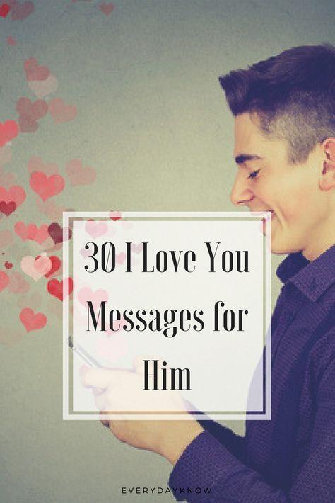 30 I Love You Messages For Him Message Amour Bonne Année