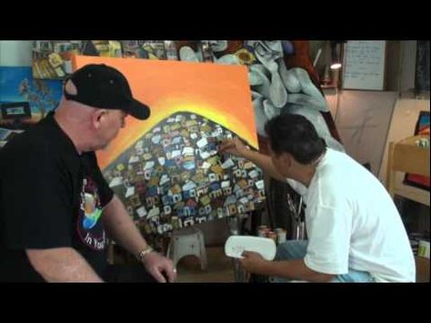 Free Art Lessons Nick Broughton - YouTube