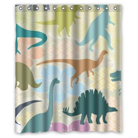 Yestore Superior Custom Dinosaur Waterproof Polyester Fabric 60 X
