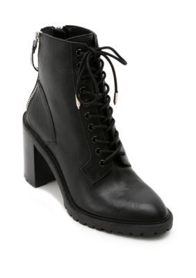 Dolce Vita Norma Lace Up Heel Boots