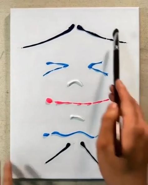 Simple acrylic painting tutorial for beginners