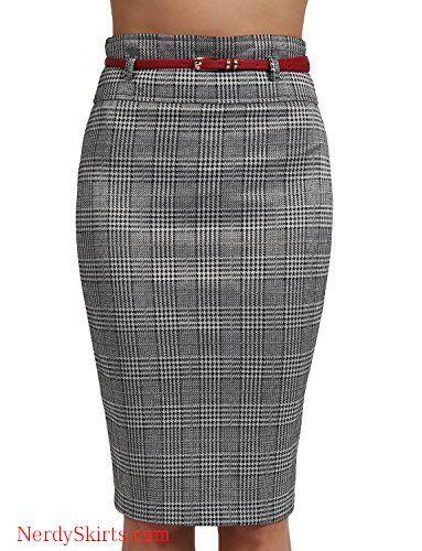Knee Length Work Office Pencil Skirts
