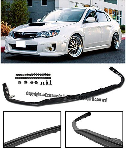 For 08-14 Subaru WRX STi Hatchback JDM Rear Roof Wing Spoiler Riser Extension