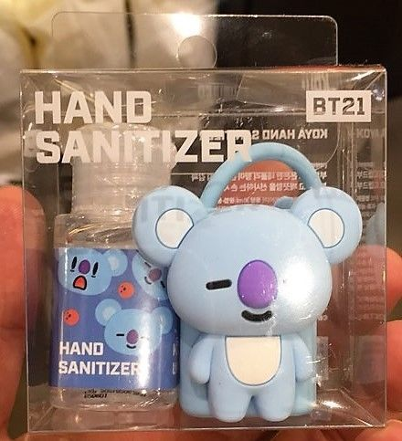 Bt21 Koya Hand Sanitizer 30ml Bts Bangtan Boys Official Goods Line
