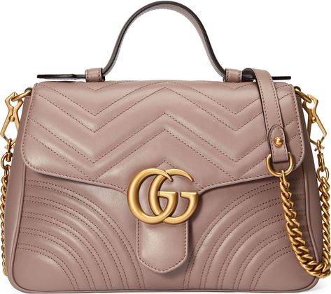 b243738efd9 Gucci Small GG Marmont 2.0 Matelassé Leather Top Handle Bag ...