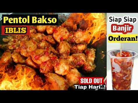 Resep Pentol Mercon Pentol Iblis Ide Usaha Paling Laris Pedessnya Gak Kuat Youtube Ide Makanan Resep Masakan Makanan