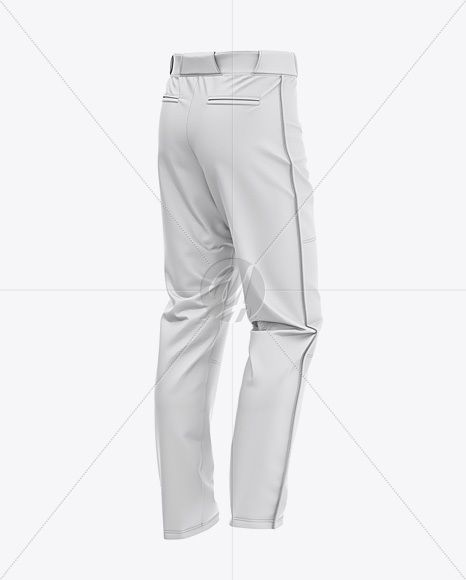 Download Fit Piped Baseball Pants Back Half Side View In Apparel Mockups On Yellow Images Object Mockups Baseball Pants Clothing Mockup Varsity Bomber Jacket