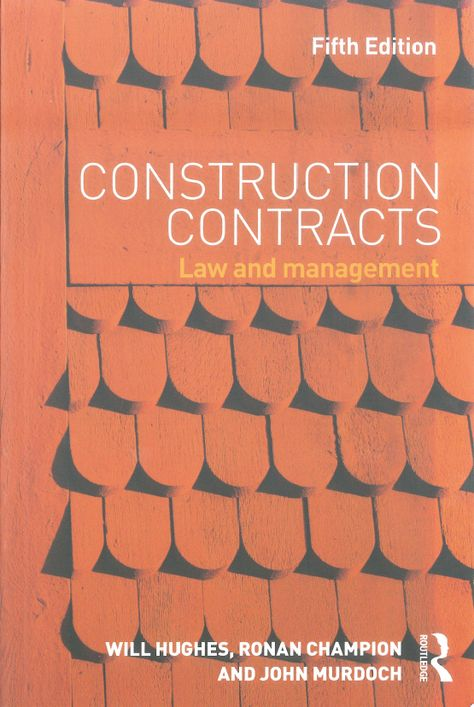 The fifth edition of this bestselling textbook has been thoroughly - construction contract sample