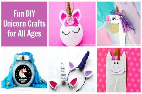 10 of the Most Magical DIY Unicorn Crafts for Kids (and Adults)