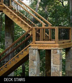 Deck Stairs Design On Deck Design Ideas Outdoor Stairs Decking Atlanta  Macon | Deck | Pinterest | Deck Stairs, Deck Design And Decking