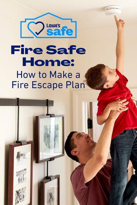 Making a fire escape plan and practicing monthly helps keep your family safe. Let us help you create a fire escape plan with a few simple tips.