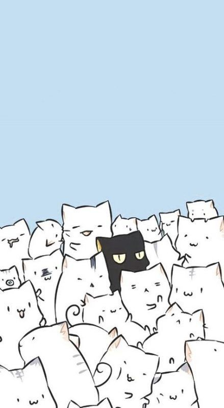 45 Cute Cat Wallpaper Aesthetic Iphone Backgrounds That Will Melt Your Heart Free Download Kawaii Wallpaper Cat Wallpaper Cute Cat Wallpaper