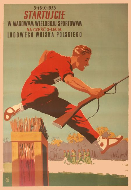 The Largest Collection Of Polish Posters Polish Posters Military Poster Historic Posters
