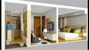 contoh dekorasi rumah kontrakan 3 petak