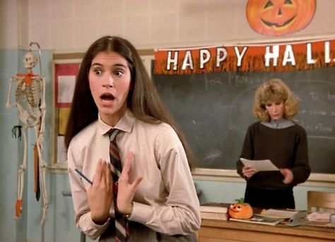 Square Pegs TV Show | Halloween XII - Jami Gertz & Catlin Adams -