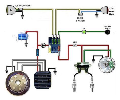26406fd526f57b6edfae77d73cd8b377 yamaha xs scrambler xs chopper xs650 simplified and complete wiring diagram electrical 1977 yamaha xs650 wiring diagram at bakdesigns.co