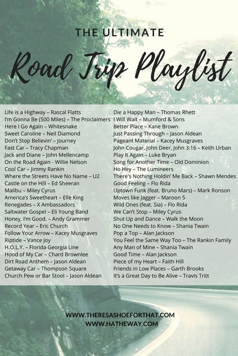 The Ultimate Road Trip Playlist