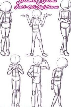 Nervioso Poses In 2020 Drawing Body Poses Body Pose Drawing Art Poses