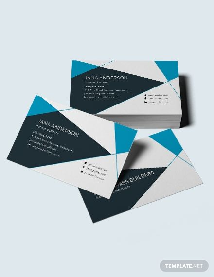 Interior Design Business Card Template Word Doc Psd Apple Mac Pages Illustrator Publisher Graphic Design Business Card Interior Designer Business Card Business Card Template Word