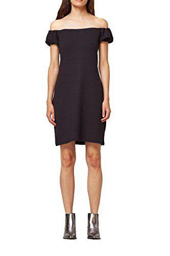 Edc By Esprit Damen Kleid 078cc1e007 Schwarz Black 001 Large Kleider Fur Damen In 2019 Formal Dresses Dresses Fashion