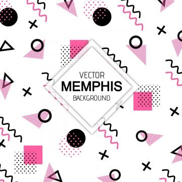 Colorful Modern Memphis Pattern Background Pattern Background