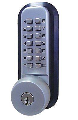 Keyless Door Lock Mechanical Code Keypad Password Security Hardware Keyless Door Lock Password Security Door Locks
