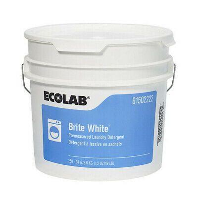 Ad Ebay Url Ecolab 61502222 Brite White Laundry Detergent Full