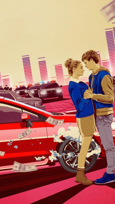 Baby Driver (2017) Phone Wallpaper   Moviemania