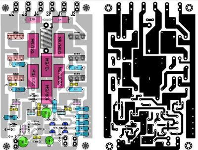 Power Amplifier 1000w Rocky Tef Circuit Diagram Diy Amplifier