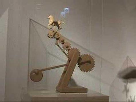▶ mechanisms & automata - YouTube 영상의 1분5초부터 나오는 유니콘 잼있음. 저거를 예제로 만들어도 좋을 것 같음.