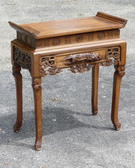 Table De Salon Dans Le Gout De Viardot Palissandre Sculpte Indochine Debut Xx Eme Tables Salon Chiffonnieres