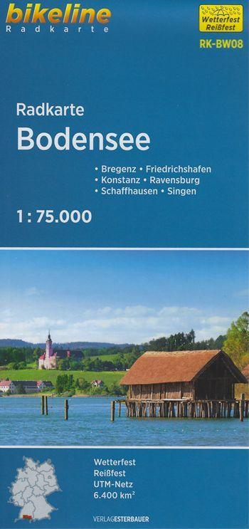 Carte Bodensee Lac De Constance In 2020 Bodensee Urlaub